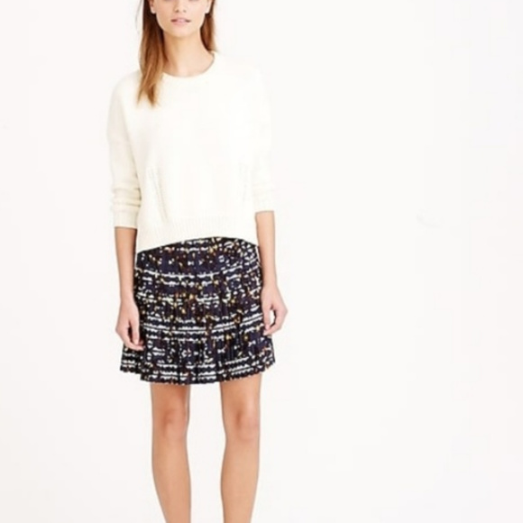 J. Crew Dresses & Skirts - J.Crew | Multi Color Pleated Skirt (A37)